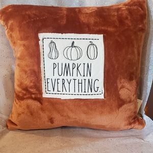 Rae Dunn pumpkin everything pillow